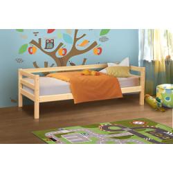 Кровать из массива вариант №2