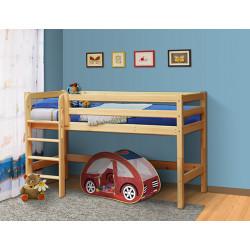 Кровать из массива вариант №11