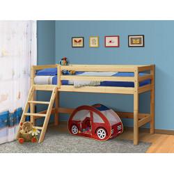 Кровать из массива вариант №12