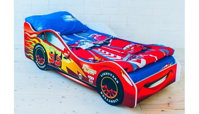Кровать машинка Тачка красная
